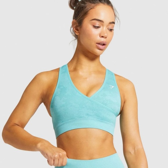 Gymshark Adapt Camo Seamless Sports Bra
